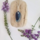 Blue & White Seaham Pendant & Necklace 2