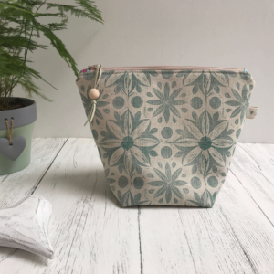 Wash Bag - Teal Toiletry Bag (1)