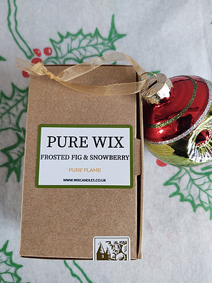 Pure Wix - Wax Melt Frosted Fig